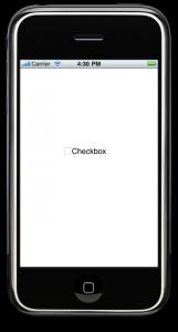 iPhone UIButton tutorial : Custom Checkboxes(CheckBox Unticked)