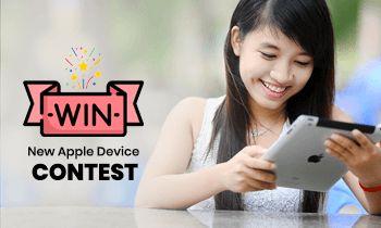 Win New Apple Device Contest!! (It Might Be iPad mini)