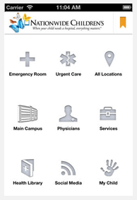 Nationwide Children's Screenshot