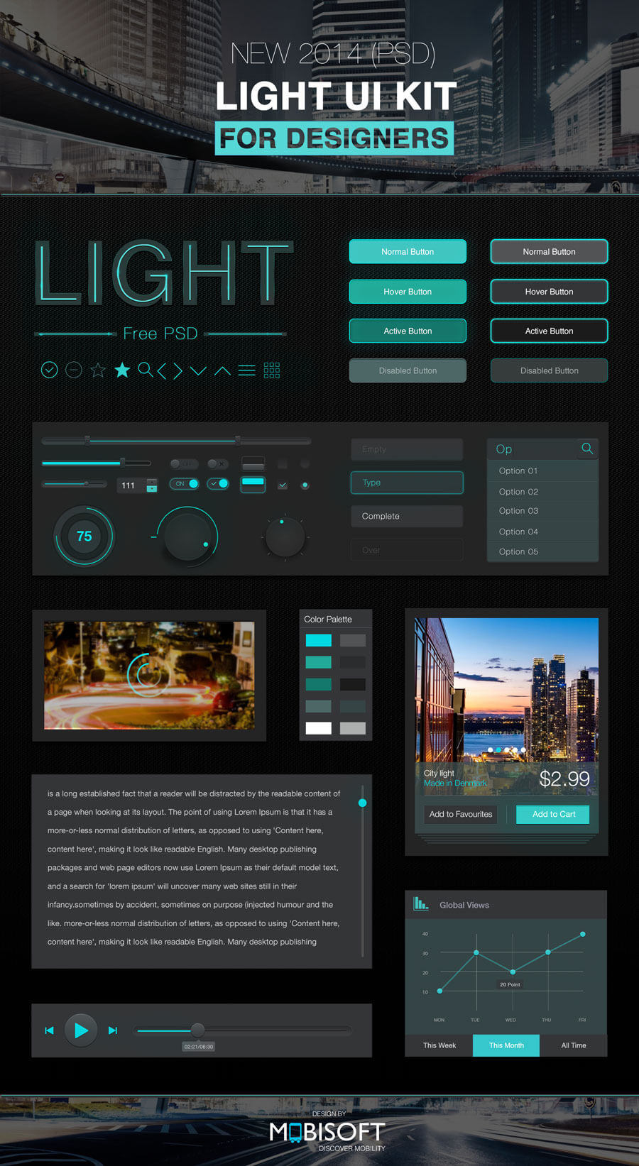 Light-UI-Kit