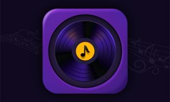 Mdesign Music App Icon