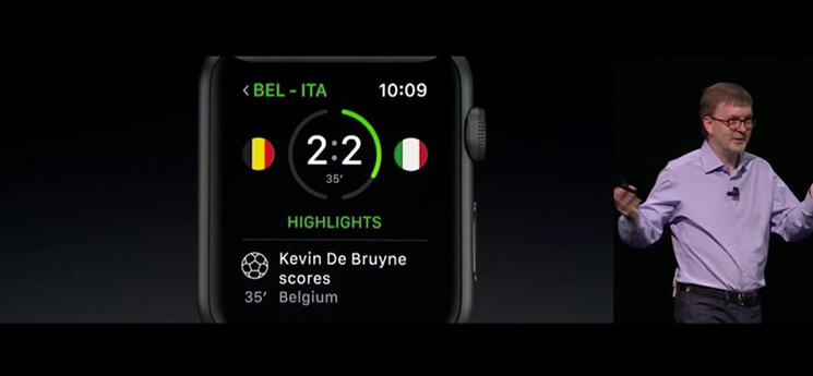 WWDC 2016 apple watch