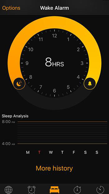 Wake Alarm iOS 10