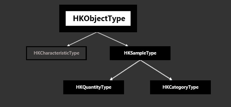 HealthKi structure and object types