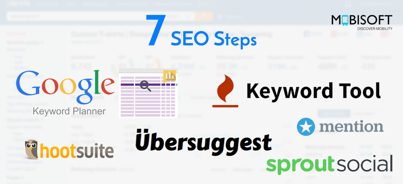 Seven SEO Steps To Improve SERPs Ranking And Customer Retention mobisoft infotech