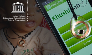 Khushi Baby Selected As A Finalist In The UNESCO-Pearson Initiative For Literacy