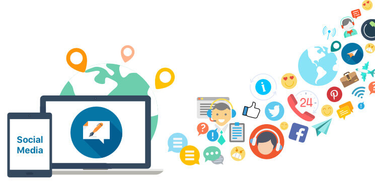 Future Of Marketing And Customer Support With Social Media Mobisoft Infotech