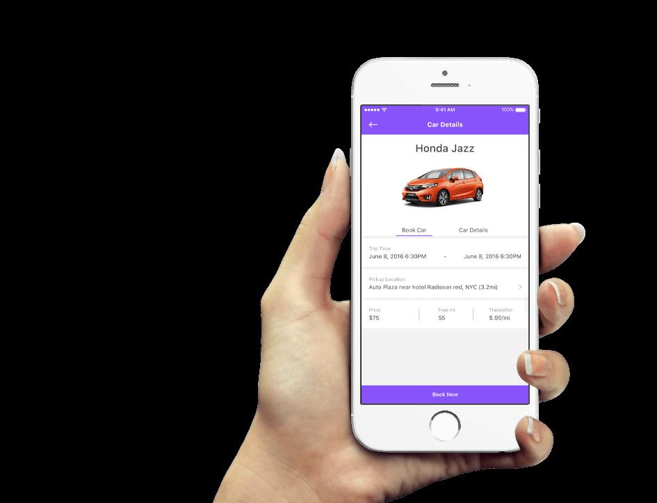 Car Rental passenger Mobisoft Infotech