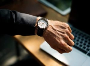 watch showing time
