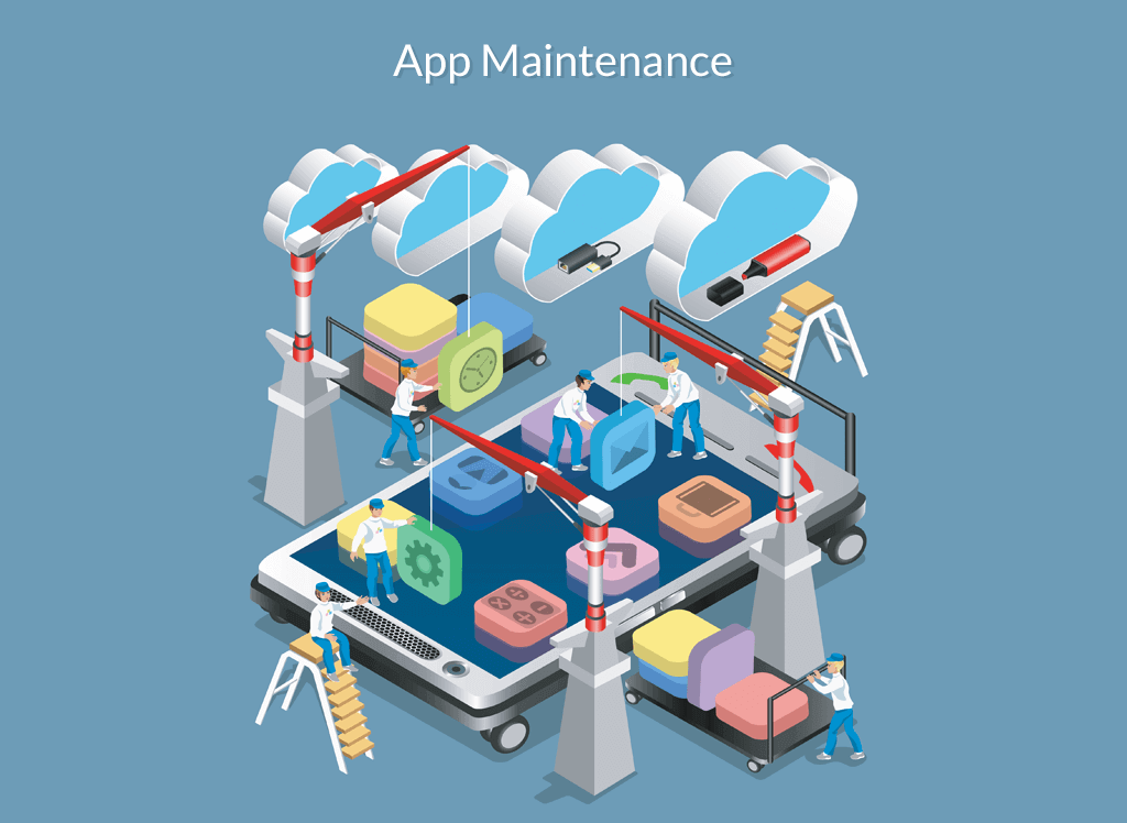 mobile app maintenance services