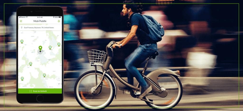 bike sharing app by mobisoft infotech