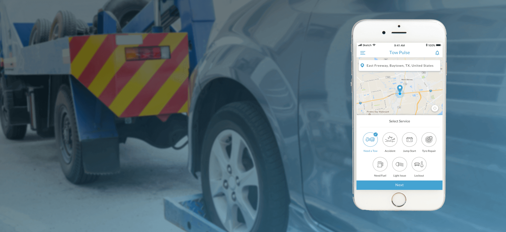 uber for tow trucks and roadside assistance app mobisoft infotech