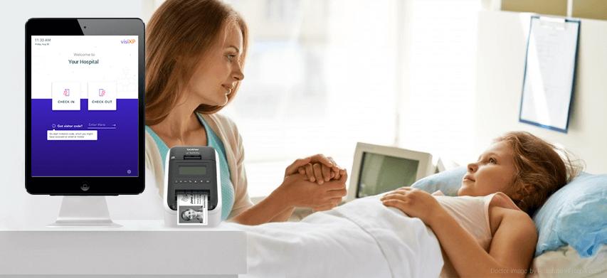 Visitor Management System in Hospitals