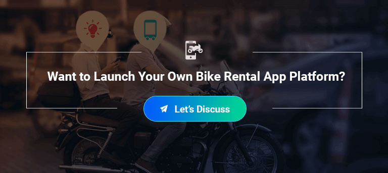 start your bike rental app business with mobiosft infotech