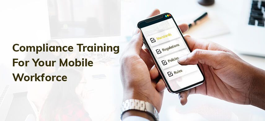 compliance training for employees with mobile apps