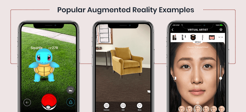list of popular augmented reality examples blog mobisoft infotech