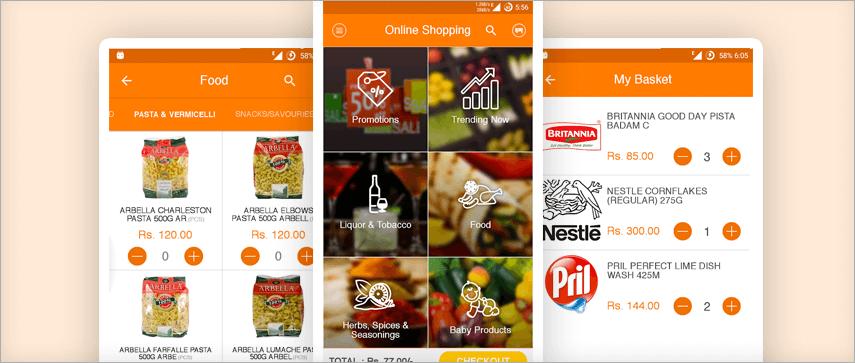 BigMart app