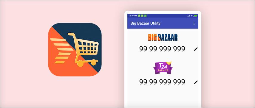 Bigbazar  app
