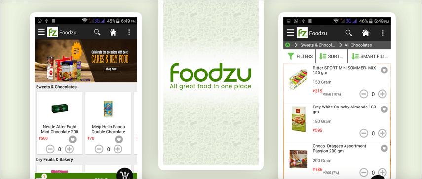 Foodzu  app