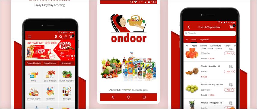 OnDoor  app