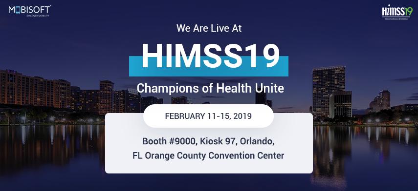 HIMSS19 - Mobisoft Infotech