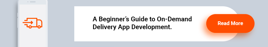 Delivery app development