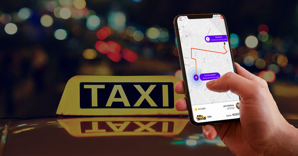 Booking cab with Uber like app