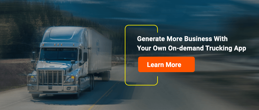 Build your own uber for trucks app