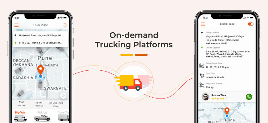 List of Uber for Trucks Startups Globally