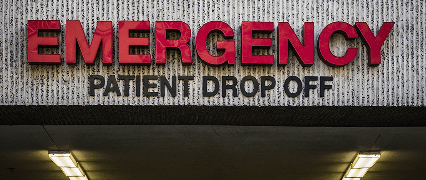 emergency drop off