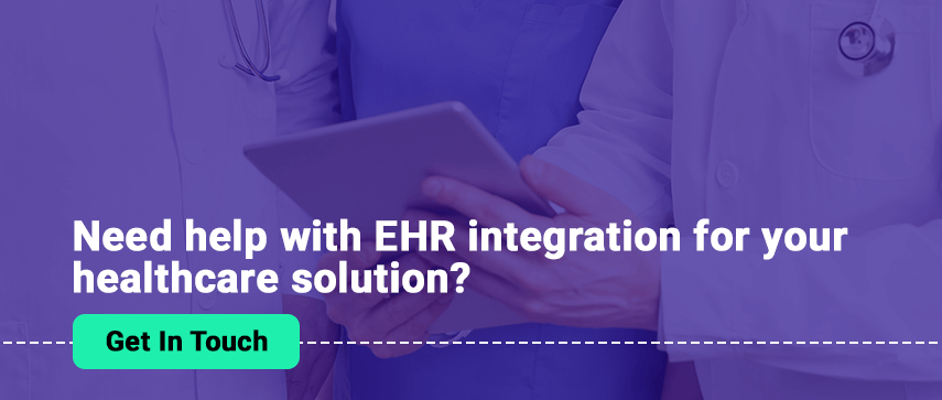 EHR integration services Mobisoft Infotech