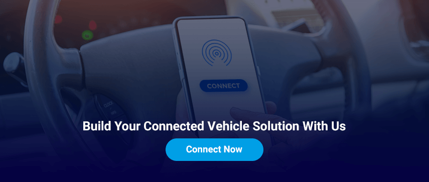 connected car IoT app development