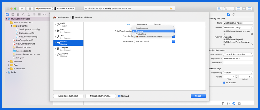 Manage Different Build Settings and Configurations-10