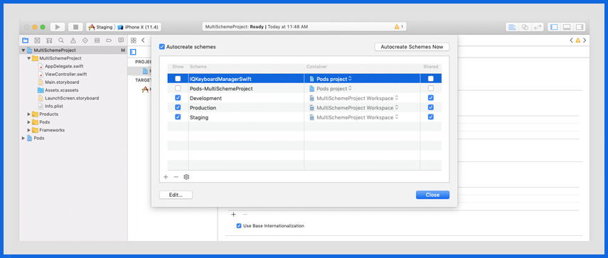 Manage Different Build Settings and Configurations-9