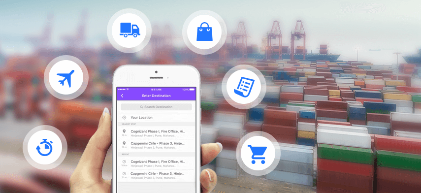Smartphone Applications For Transportation And Logistics