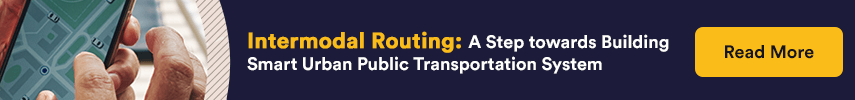 Intermodal Routing: A Step towards Building Smart Urban Public Transportation System