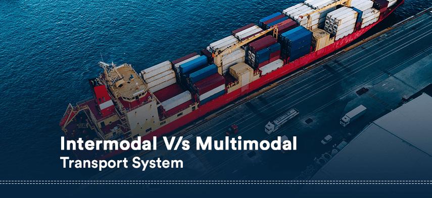 intermodal vs multimodal