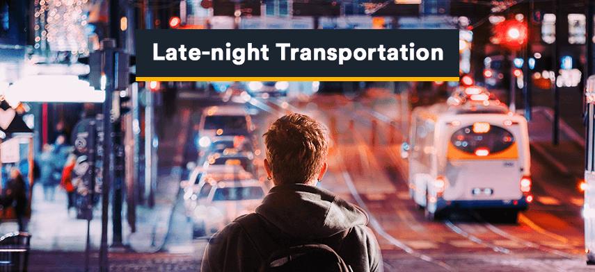 late-night transportation service