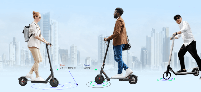 IOT in micro-mobility industry