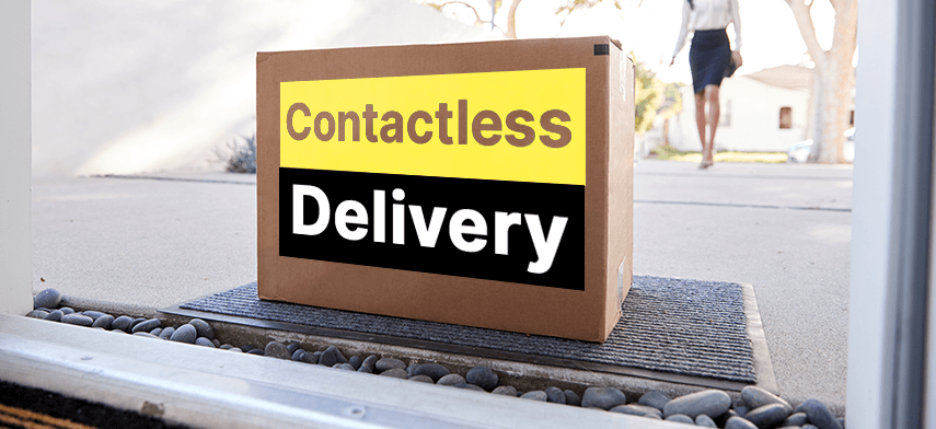 contactless delivery system