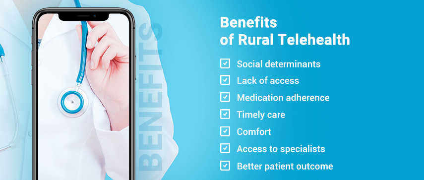 benefits of rural telehealth