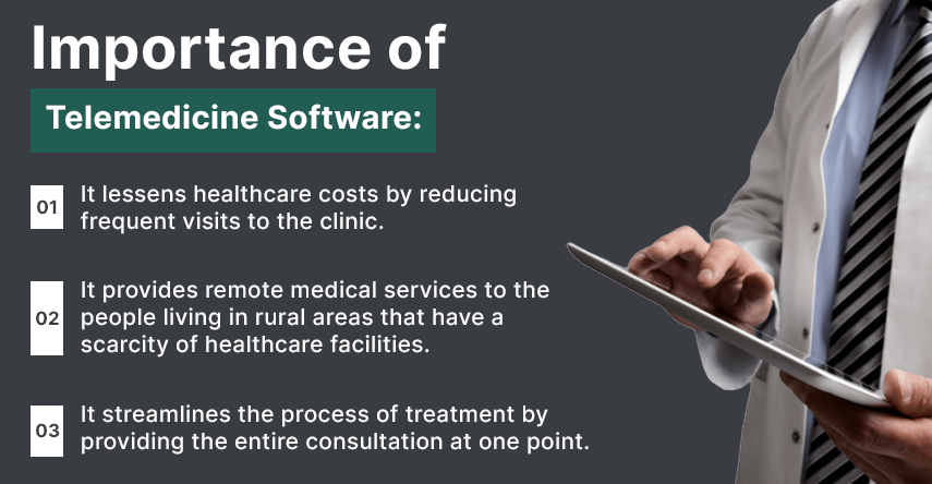 importance of telemedicine software