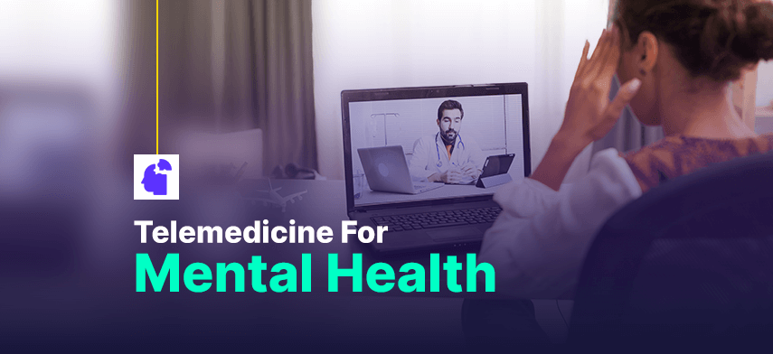 Telemedicine For Mental Health: Breaking Societal Stigma and Aiding Industrial Growth