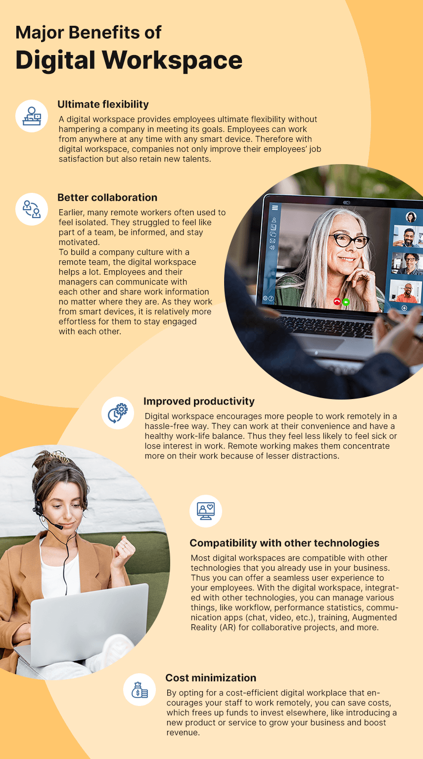 Major Benefits of Digital Workspace