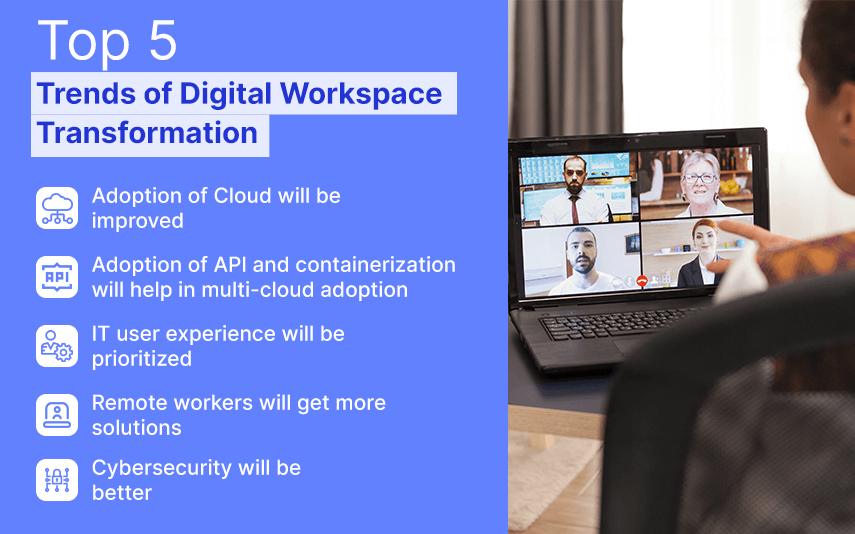 trends of digital workspace transformation