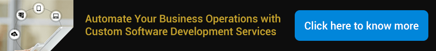 Automate Your Business Operations with Custom Software Development Services