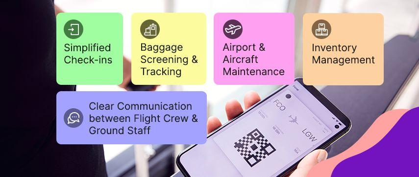 mobile scanning software for air travel