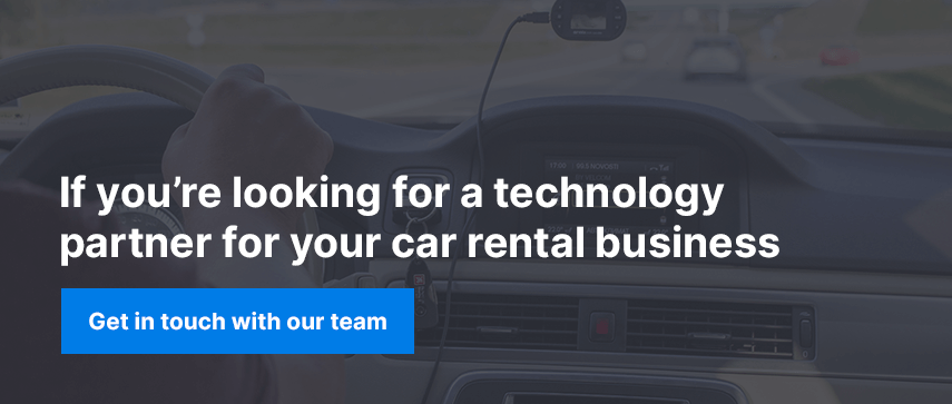 If you're looking for a technology partner for your car rental business