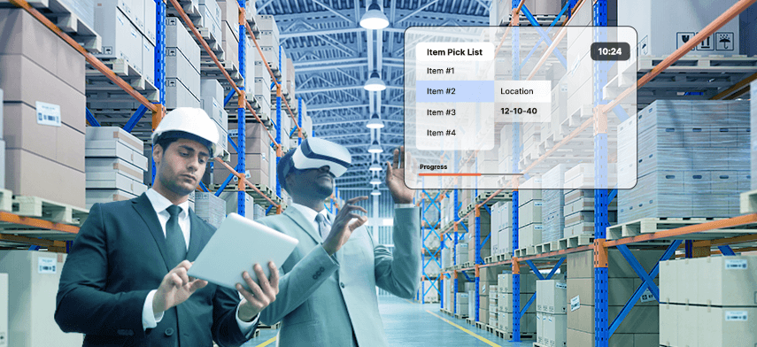 the future of logistics and supply chain management with ar and vr