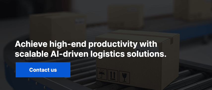 Achieve high-end productivity with scalable AI-driven logistics solutions. Contact us.